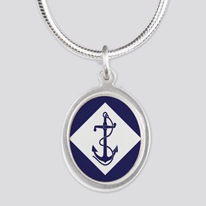 Navy Flag Necklaces
