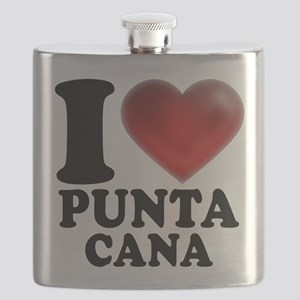 I Heart Punta Cana Flask
