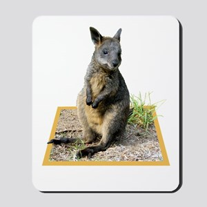 Autumn The Swamp Wallaby Mousepad