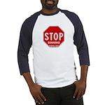 Stop Sinning Baseball Jersey