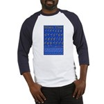 Hebrew Wall Chart Baseball Jersey