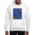 Alef and Tav Hooded Sweatshirt