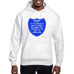 YHVH Is My Shield Hooded Sweatshirt