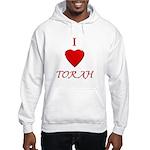 I Love Torah Hooded Sweatshirt