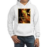 Our God Is A Consuming Fire Hooded Sweatshirt