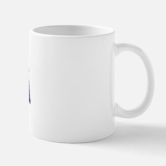 HUERTA design (blue) Mug
