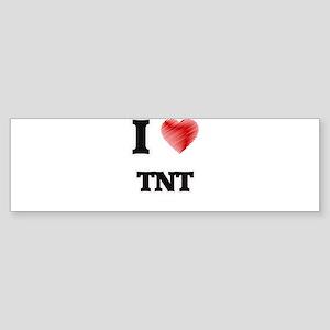 I Love Tnt Bumper Sticker