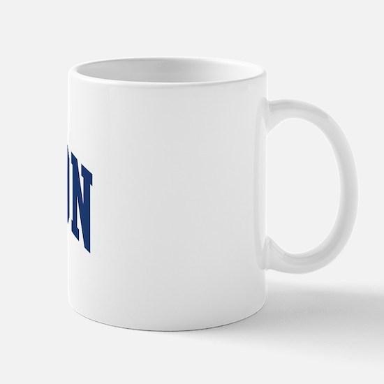 JAMESON design (blue) Mug