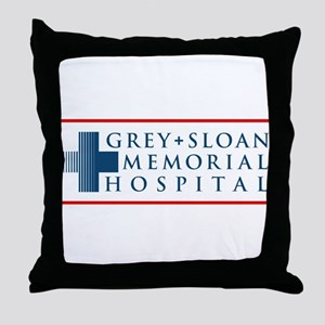 Grey Sloan Memorial Hospital Throw Pillow