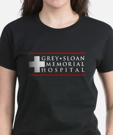 Grey Sloan Memorial Hospital Women's Dark T-Shirt