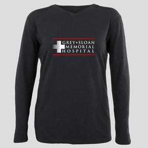 Grey Sloan Memorial Hospital Plus Size Long Sleeve