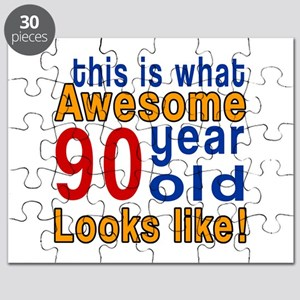 This Is What Awesome 90 Year Old Looks Like Puzzle