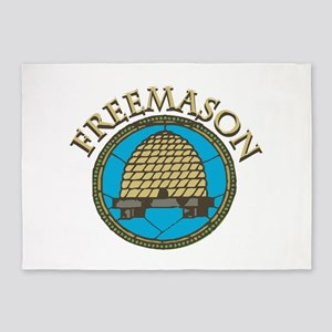 Freemason 5'x7'Area Rug