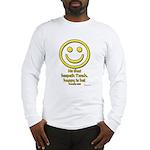 Happy Is He Who Keeps Torah Long Sleeve T-Shirt