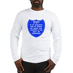 YHVH Is My Shield Long Sleeve T-Shirt