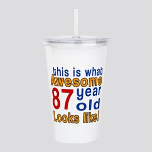 This Is What Awesome 8 Acrylic Double-wall Tumbler