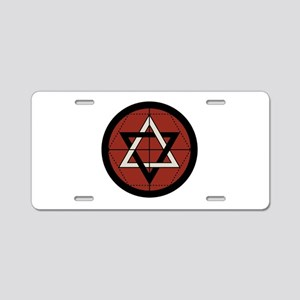 Martinist Seal Aluminum License Plate