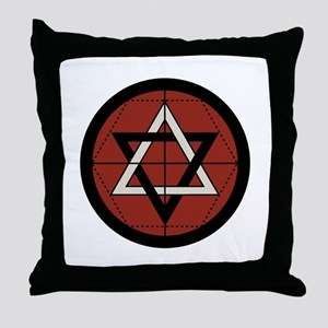 Martinist Seal Throw Pillow