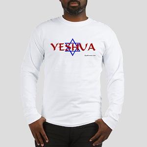 Yeshua & Star of David Long Sleeve T-Shirt