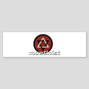 Martinist Bumper Sticker
