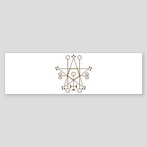 Astaroth Goetic Seal Bumper Sticker