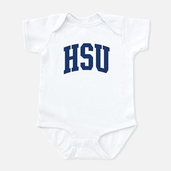 HSU design (blue) Infant Bodysuit