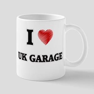 I Love Uk Garage Mugs