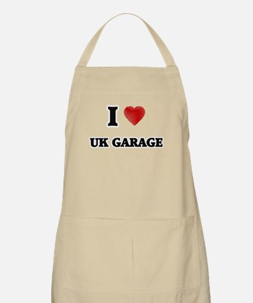 I Love Uk Garage Apron