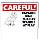 Cavalier King Charles Spaniels Yard Sign