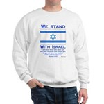 We Stand With Israel Sweatshirt