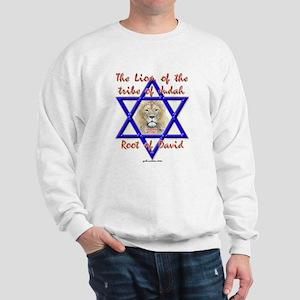 Lion Of The Tribe Of Judah Sweatshirt