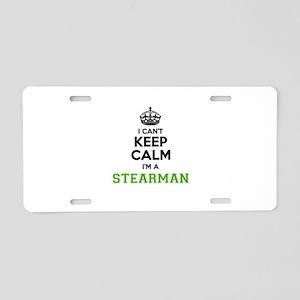 STEARMAN I cant keeep calm Aluminum License Plate