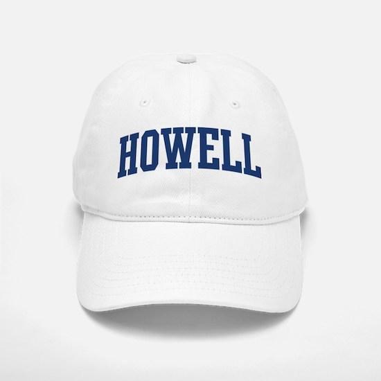 HOWELL design (blue) Baseball Baseball Cap
