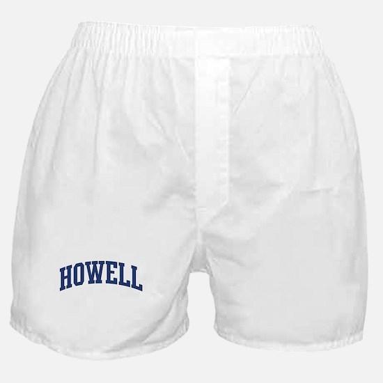 HOWELL design (blue) Boxer Shorts