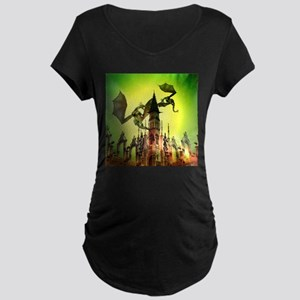 Flying dragon Maternity T-Shirt
