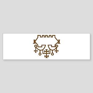 Belial Goetic Seal Bumper Sticker