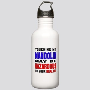 Touching my mandolin M Stainless Water Bottle 1.0L