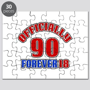Officially 90 Forever 18 Puzzle