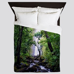 Manoa Falls Hawaii Queen Duvet