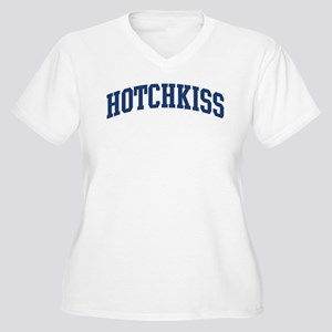 HOTCHKISS design (blue) Women's Plus Size V-Neck T