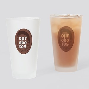 Ourobros Drinking Glass