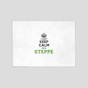 STEPPE I cant keeep calm 5'x7'Area Rug