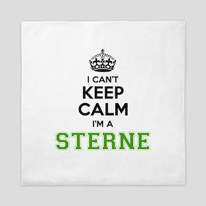 Sterne I cant keeep calm Queen Duvet