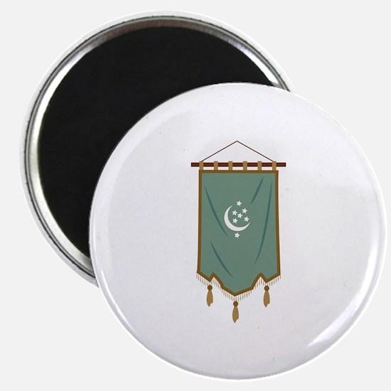 Odd Fellow Moon Banner Magnets