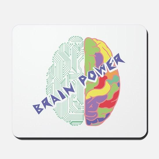 Brain Power Mousepad