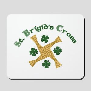 St. Brigids Cross Mousepad
