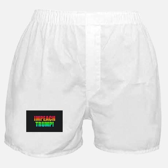 Impeach Trump Boxer Shorts