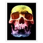 Pop Art Skull Face Posters