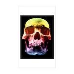 Pop Art Skull Face Sticker