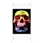 Pop Art Skull Face Banner